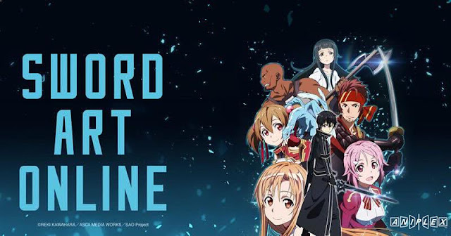 Sword Art Online - Top Best anime by A-1 Pictures List
