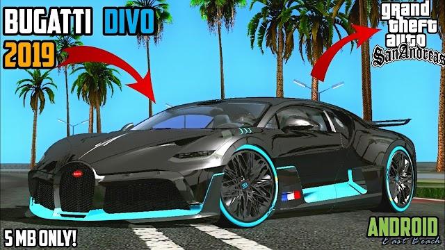 Bugatti Divo Car Mod for GTA SA Android & PC