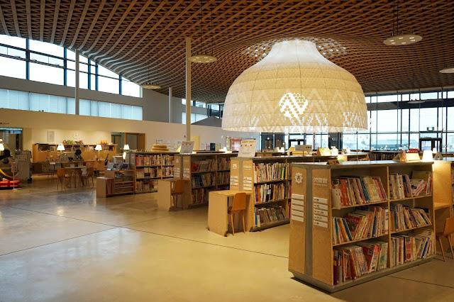位於岐阜縣的市立圖書館
