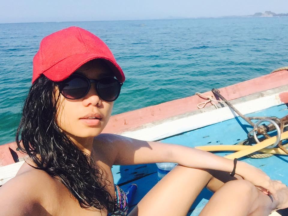 Singer Ah Moon At Ngapali Beach