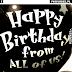 Krótkie życzenia urodzinowe po angielsku na FB / Happy Birthday pics