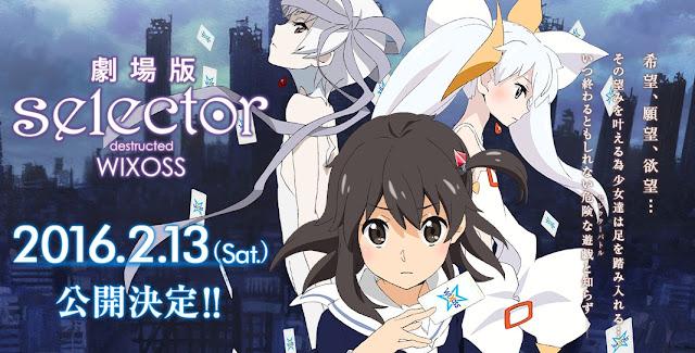 Kumpulan Foto Gekijouban Selector Destructed WIXOSS (2016), Fakta Gekijouban Selector Destructed WIXOSS (2016) dan Videonya