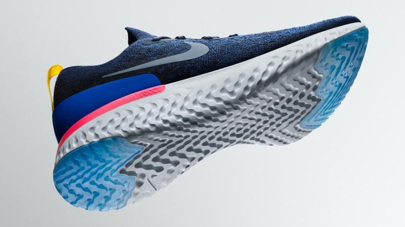The Nike Epic React Flyknit will be available February 22 on nike.com and  at select retailers.