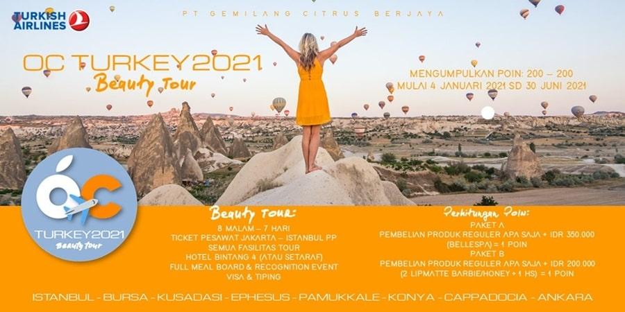 Program Beauty Tour ke Turkey 2021 Ourcitrus