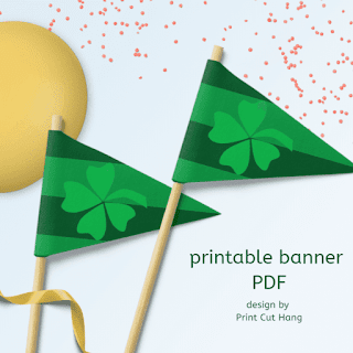 St Patricks Pennants