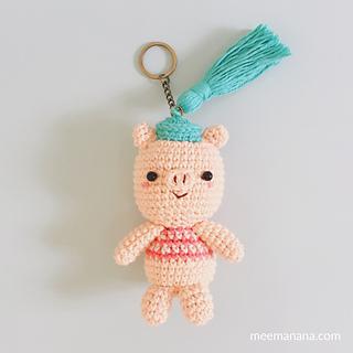 Amigurumi Free Patterns Keychain : Little Piggy keychain Free Amigurumi Patterns Bloglovin