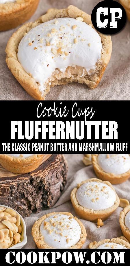 FLUFFERNUTTER #COOKIE CUPS