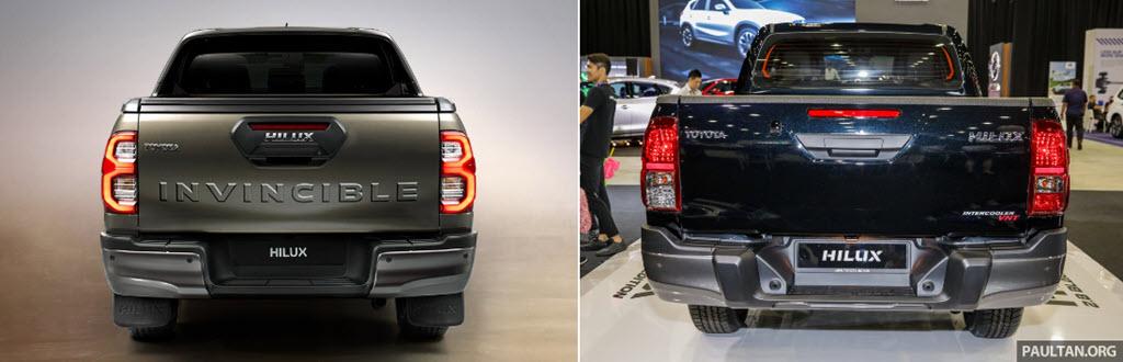 Toyota Hilux 2021 đã được nâng cấp những gì?