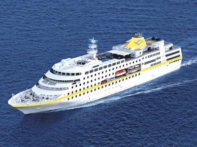 Το κρουαζιερόπλοιο «Hamburg» τη Δευτέρα στην Ηγουμενίτσα