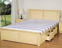Giường ngủ hiện đại đẹp nhất G50 có khoang chứa đồ rộng