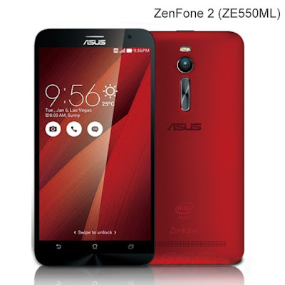 Review Asus Zenfone 2 ZE550ML