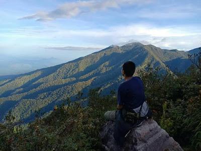 aceh, jalur pendakian burni telong, bener meriah, puncak gunung merapi, burni telong