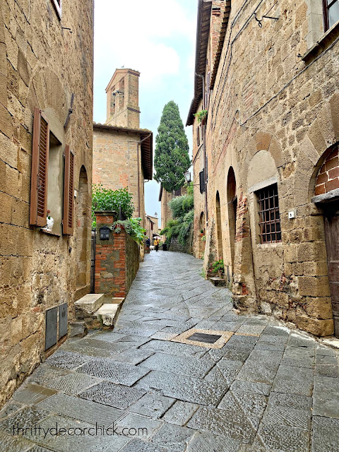 Beautiful village in Tuscany