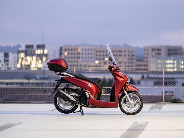 Nέο Honda SH350i MY21