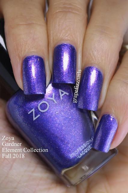 Gardner Zoya Element Collection Fall 2018