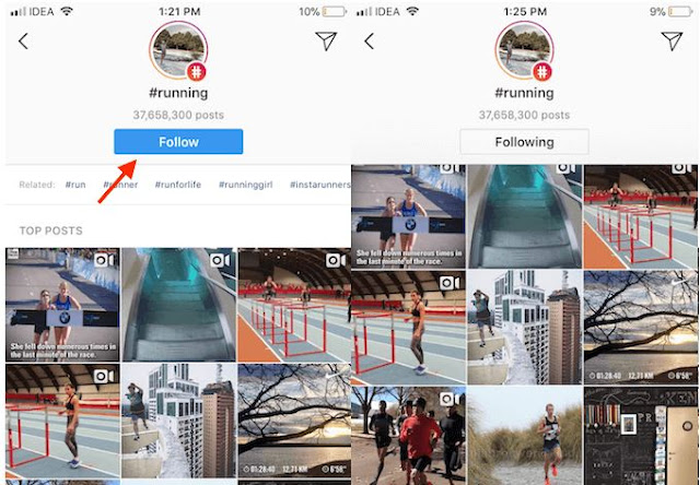Cara Follow/Unfollow Hashtag di Instagram Android dan iOS