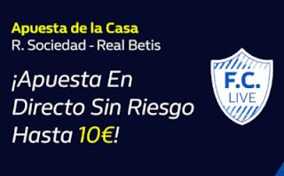 william hill promo Real Sociedad vs Betis 20-10-2019
