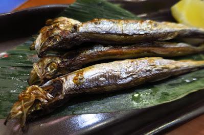 Keria Japanese Restaurant, shishamo