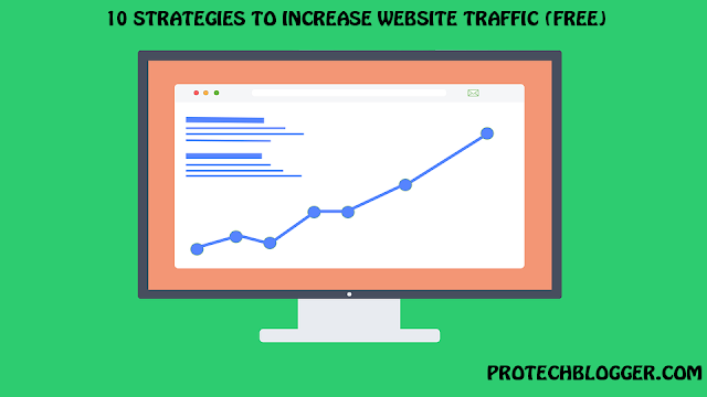 a step by step guide on how to generate traffic to your website and grow your visitors for free with simple strategies.