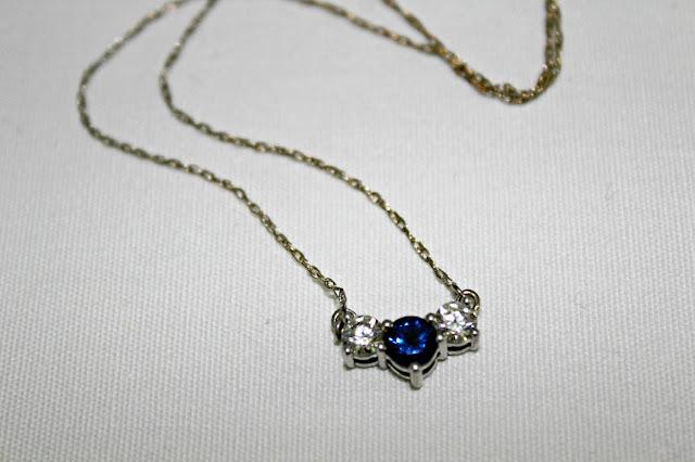 anjolee diamond pendant necklace