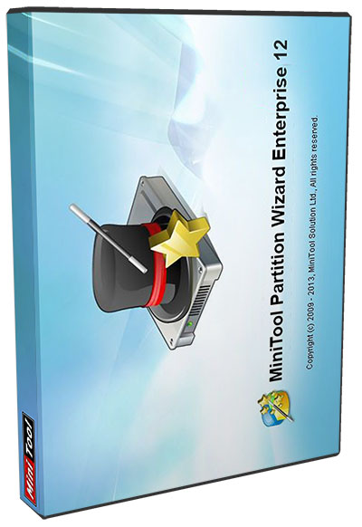 MiniTool Partition Wizard Enterprise 12.0 poster box cover