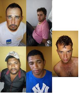 Polícia prende e identifica parte da quadrilha responsável por assalto a banco em Cuité