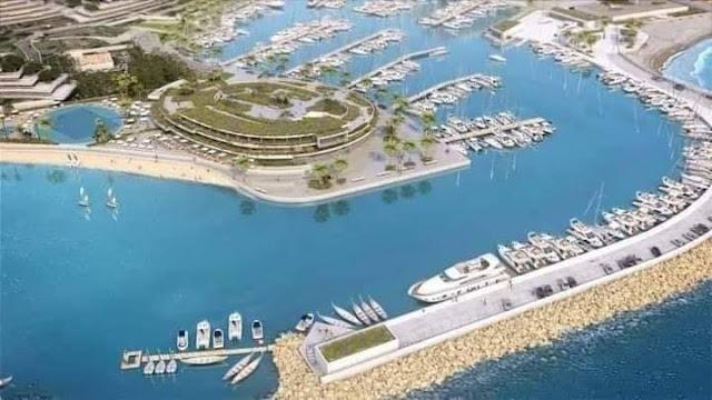شاهد... ميناء الداخلة الأطلسي  ورش وطني عالمي