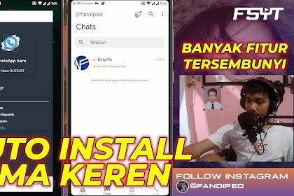 Download Aero Whatsapp Terbaru Yang Sudah Ada Tema Keren
