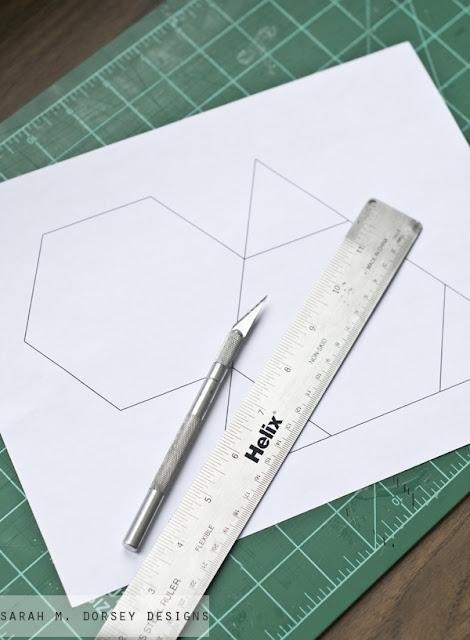 Stiftehalter in verführerischer Geometrie – ein leichter Selbermachen-Tipp fürs Büro