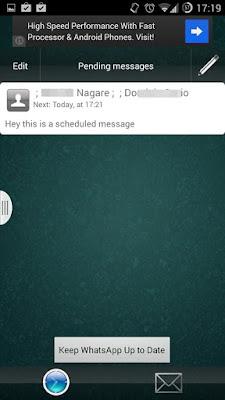 Jadwalkan Pesan Whatsapp di Android
