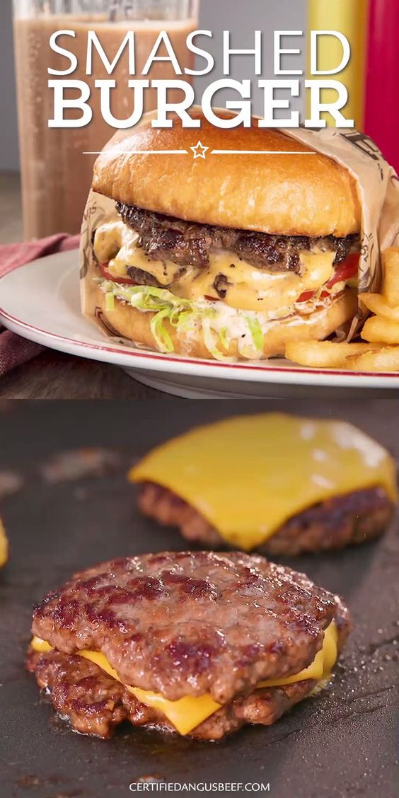 BEST AND CLASSIC SMASHED BURGER