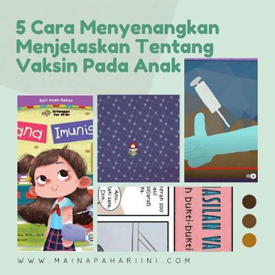 tips agar anak tidak takut disuntik