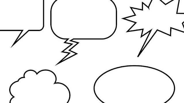 Fungsi Balon Percakapan atau Balon Kata