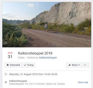 Kalkbrottsloppet 2019 Facebook Page