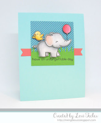 Have an Unforgettable Day card-designed by Lori Tecler/Inking Aloud-stamps from Lawn Fawn