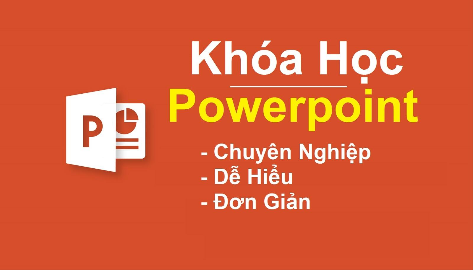 Khóa Học Thiết kế Powerpoint chuyên nghiệp