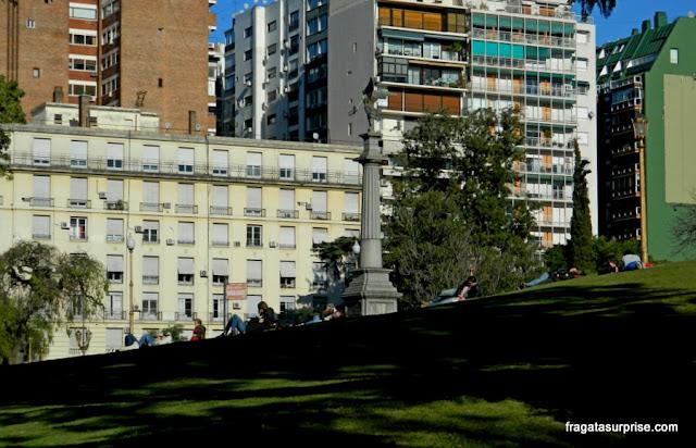 Jardim na Recoleta, Buenos Aires