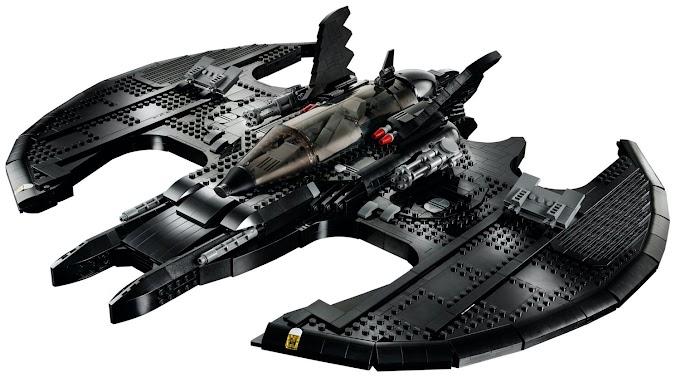 LEGO revela su impresionante BATWING de 2,363 piezas del BATMAN de Tim Burton de 1989