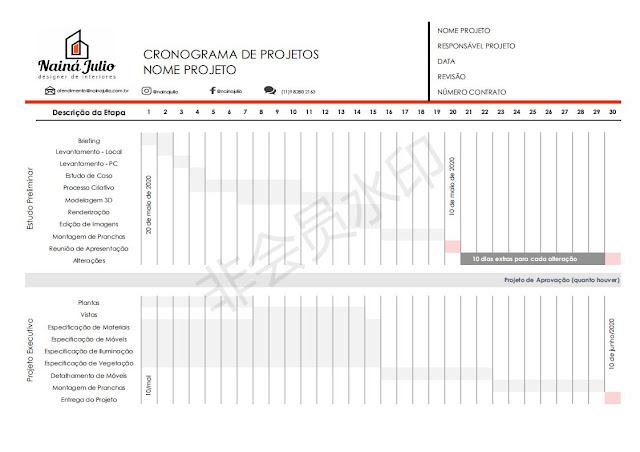 CRONOGRAMA DE PROJETO