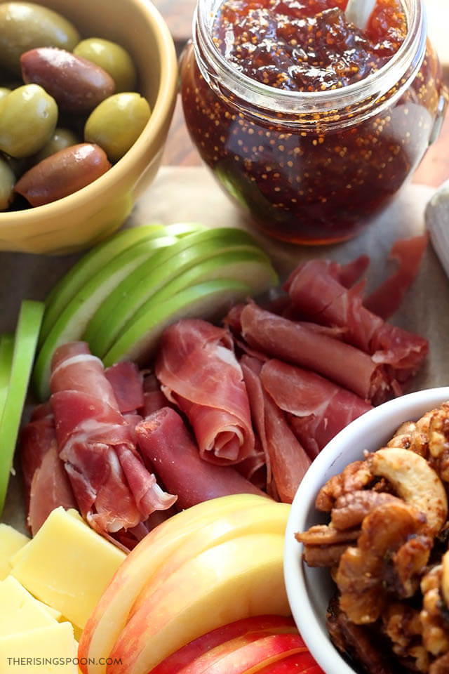Autumn Harvest Charcuterie Board (Meat & Cheese Appetizer Platter)