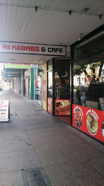 A1 Kebab and Cafe, Frankston, souvlaki
