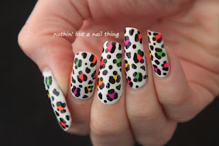 leopard print nail art ideas