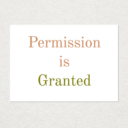 Permission is Granted © Graeme Walker 2020