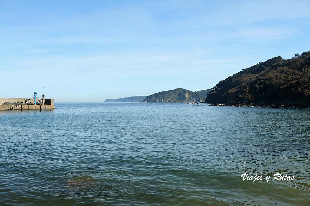 Mar Cantábrico en Tazones