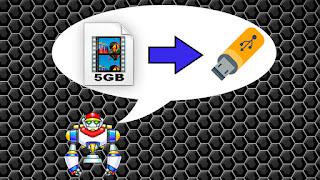 """Como Colocar """"Arquivos Maiores de 4GB"""" no Pen Drive"""