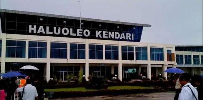 Selasa Sore, Bandara Haluoleo Kendari Kembali Kedatangan Penumpang Luar Negeri