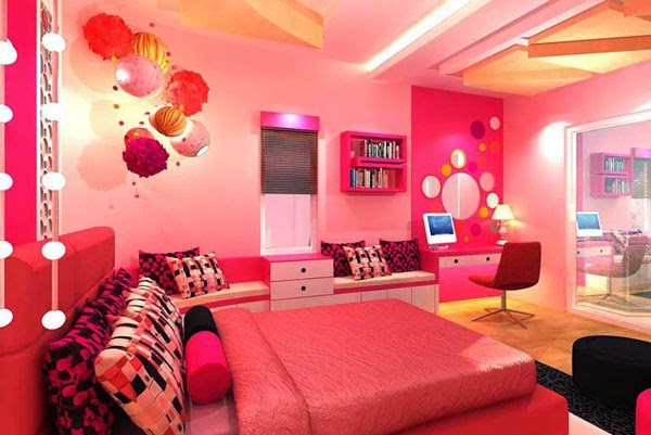 Lindos cuartos para ni a dormitorios colores y estilos for Cuartos de ninas fucsia