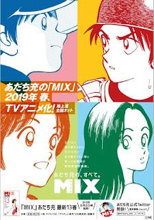 """Manga: Anunciada adaptación anime para """"Mix"""" de Mitsuru Adach"""