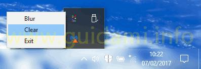 TranslucentTB menu applicare effetto trasparenza barra applicazioni