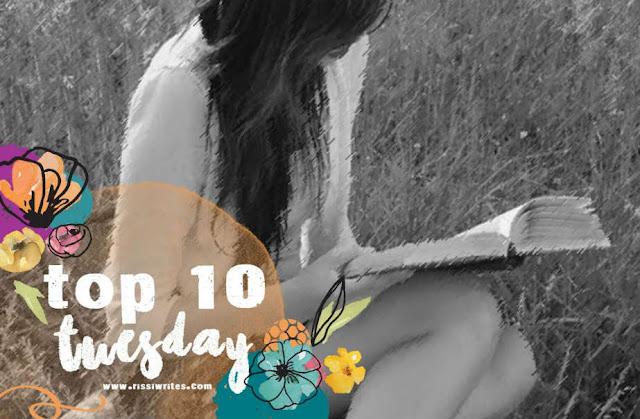 Top Ten Tuesday Girl Reading